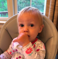 child who is thumb sucking