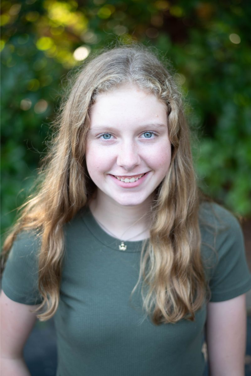JFO patient Katherine after orthodontic treatment